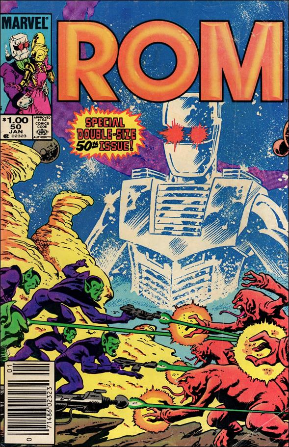 ROM (1979) 50-A by Marvel