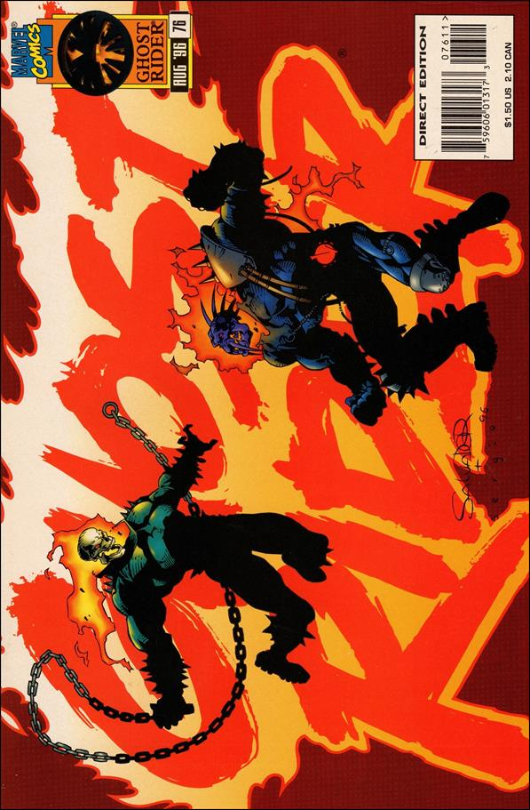 Ghost Rider (1990) 76-A by Marvel