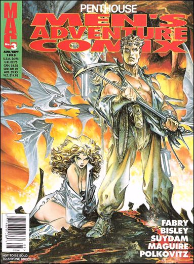 Penthouse Men's Adventure Comix 3-A by Penthouse
