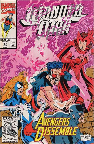 Wonder Man (1991) 17-A by Marvel