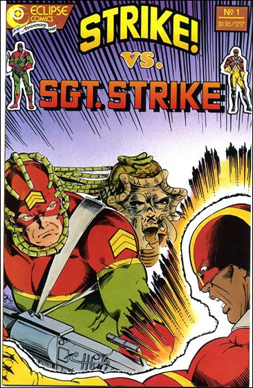 Strike! Versus Sgt. Strike Special 1-A by Eclipse