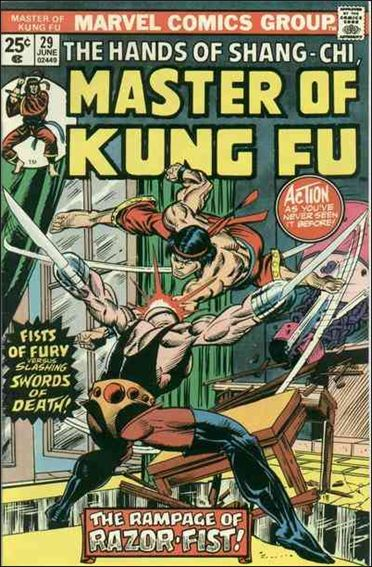 Master of Kung Fu 29-A by Marvel