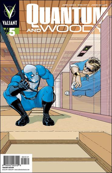 Quantum & Woody (2013) 5-C by Valiant Entertainment