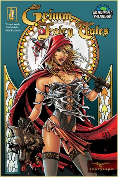 Grimm Fairy Tales 1-B by Zenescope Entertainment