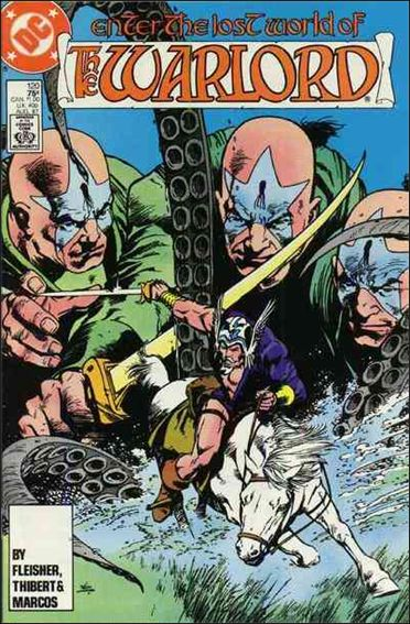 Warlord (1976) 120-A by DC
