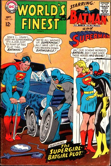 World's Finest Comics 169-A by DC