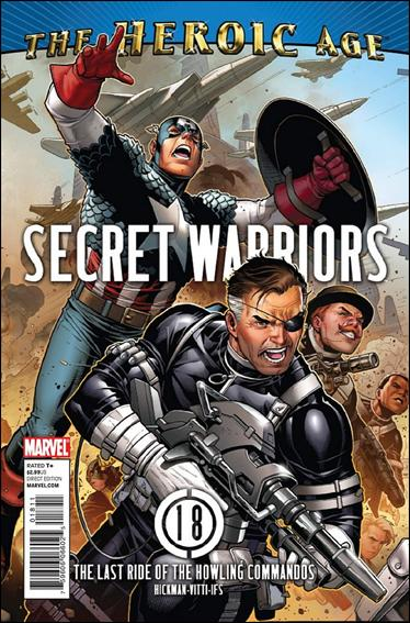 Secret Warriors 18-A by Marvel
