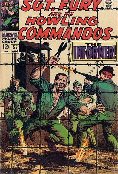 Sgt. Fury and His Howling Commandos 57-A by Marvel