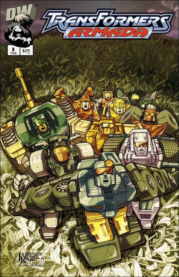 Transformers: Armada (2002) 8-A by Dreamwave
