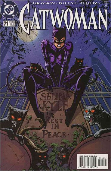 Catwoman (1993) 71-A by DC