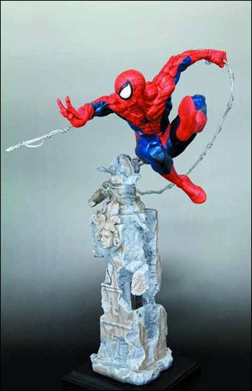 Spider-Man Fine Arts Statues Spider-Man 1/1900 by Kotobukiya