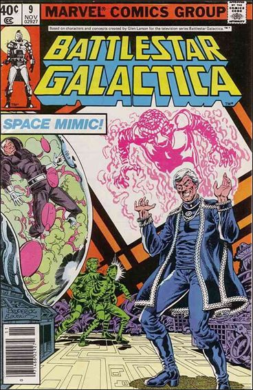 Battlestar Galactica (1979) 9-A by Marvel