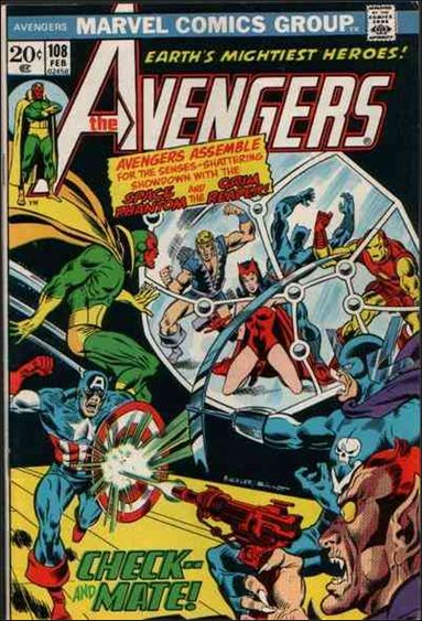 Avengers (1963) 108-A by Marvel