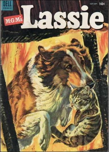Lassie (1950) 12-A by Dell