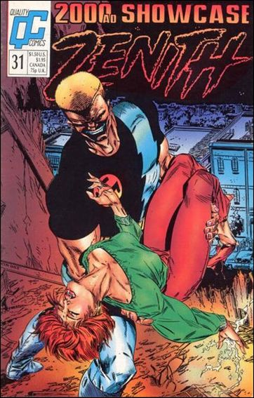 2000 A.D. Showcase (1988) 31-A by Quality Comics