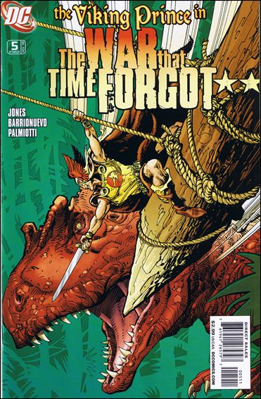 War That Time Forgot 5-A by DC