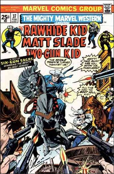 Mighty Marvel Western 37-A by Marvel