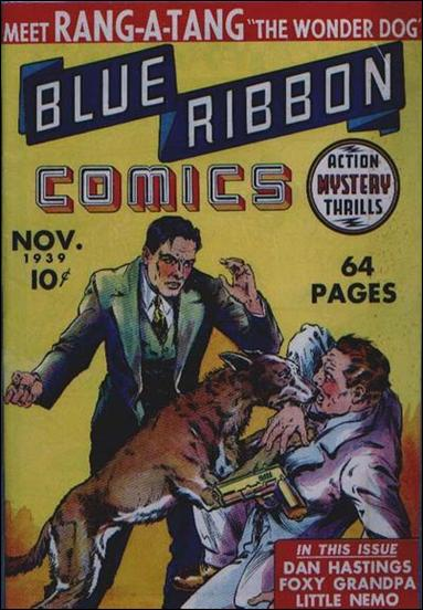 Blue Ribbon Comics (1939) 1-A by MLJ