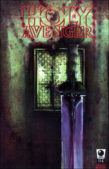 Holy Avenger 1-A by Slave Labor Graphics (SLG) Publishing
