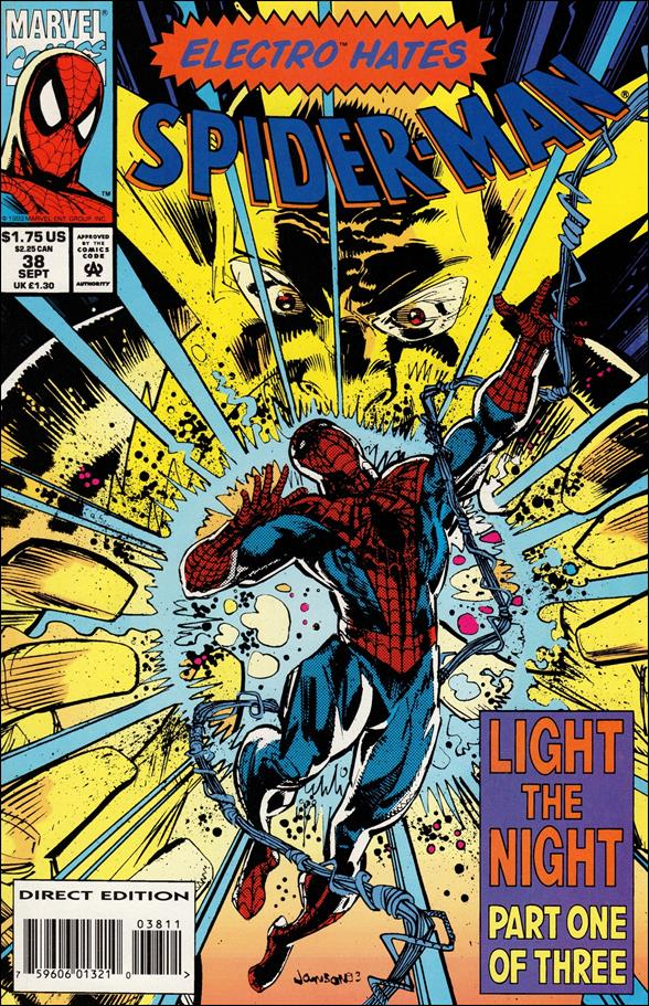 Spider-Man (1990) 38-A by Marvel