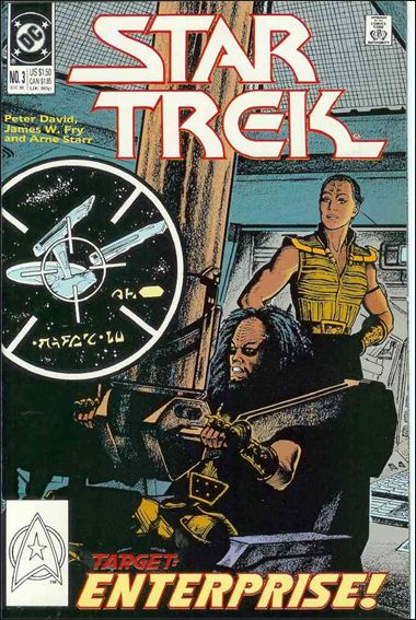 Star Trek (1989) 3-A by DC