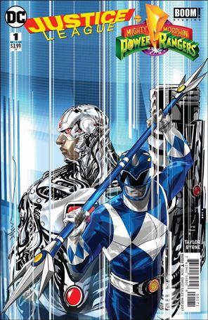 Justice League/Power Rangers 1-C