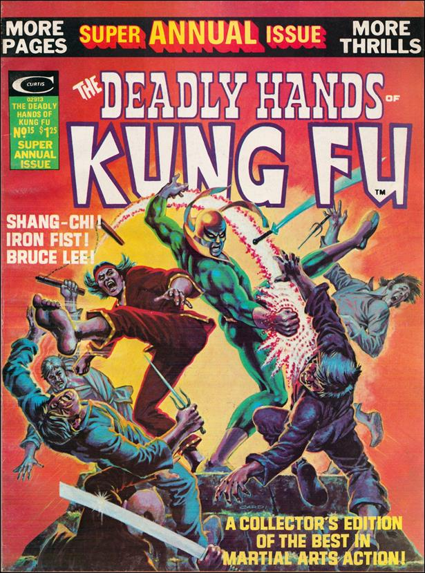 Deadly Hands of Kung Fu 15-A by Marvel