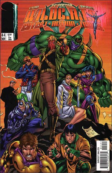 WildC.A.T.s: Covert Action Teams 44-A by Image
