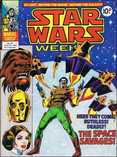 Star Wars Weekly (UK) 18-A by Marvel UK