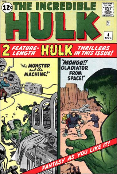 Incredible Hulk (1962) 4-A by Marvel