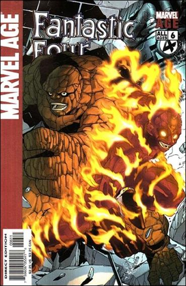 Marvel Age Fantastic Four 6-A by Marvel