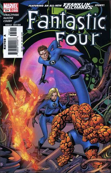 Fantastic Four (1961) 534-A by Marvel