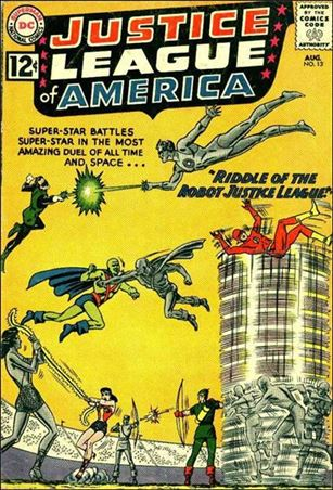 Justice League of America (1960) 13-A