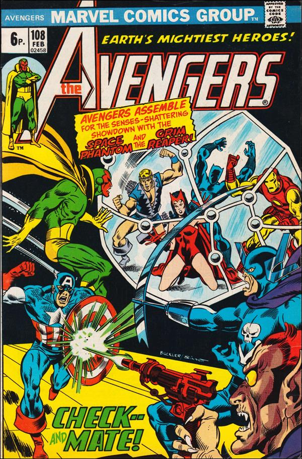Avengers (1963) 108-B by Marvel