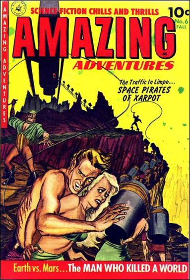 Amazing Adventures (1950) 6-A by Ziff-Davis