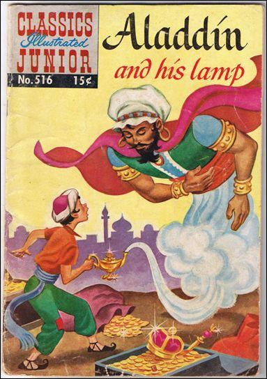 Classics Illustrated Junior 516-C by Famous Authors, Ltd.