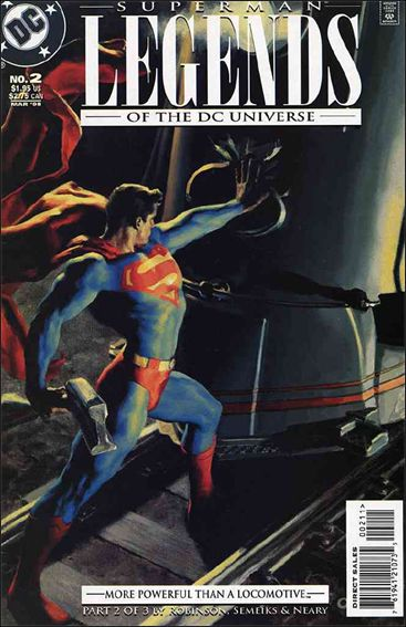 Legends of the DC Universe 2-A by DC