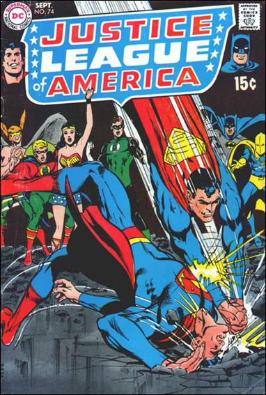 Justice League of America (1960) 74-A by DC