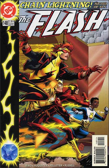 Flash (1987) 148-A by DC
