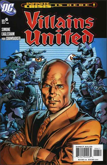 Villains United 6-A by DC