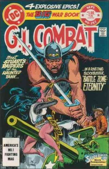 G.I. Combat (1952) 257-A by DC