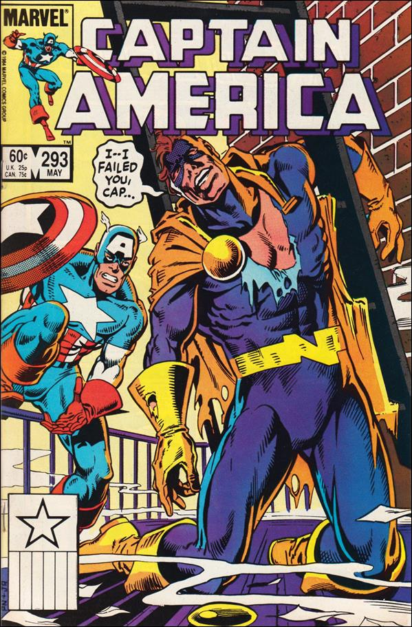 Captain America (1968) 293-A by Marvel