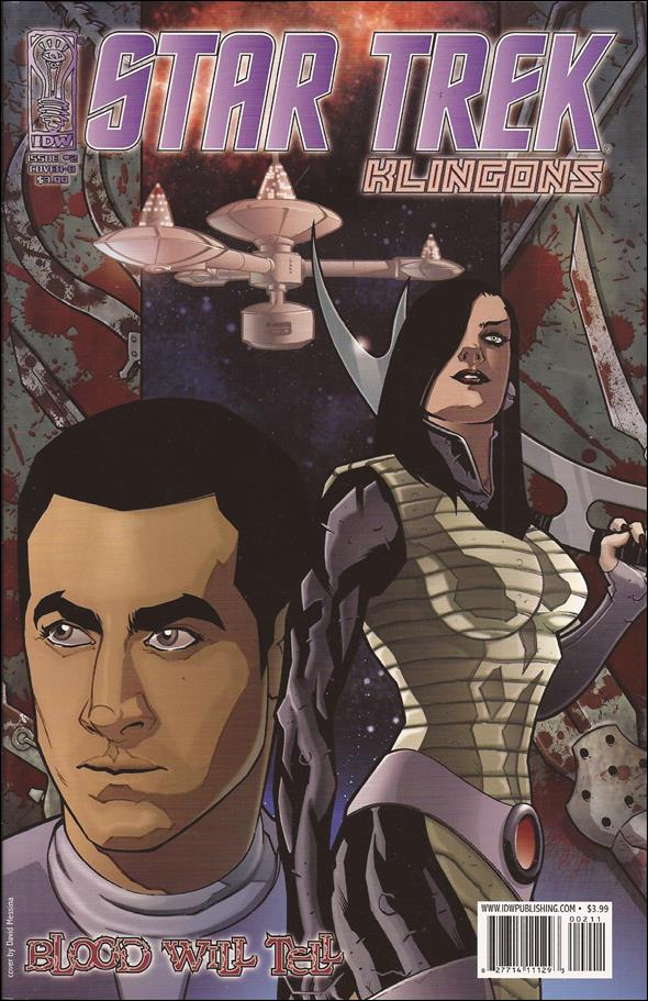 Star Trek: Klingons: Blood Will Tell 2-B by IDW