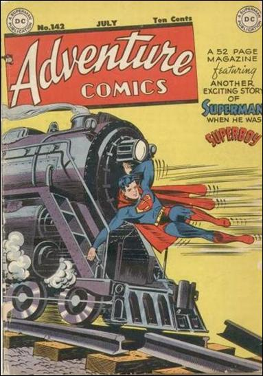 Adventure Comics (1938) 142-A by DC
