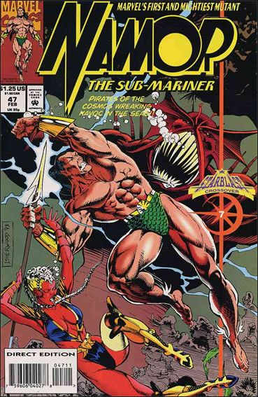 Namor: The Sub-Mariner 47-A by Marvel