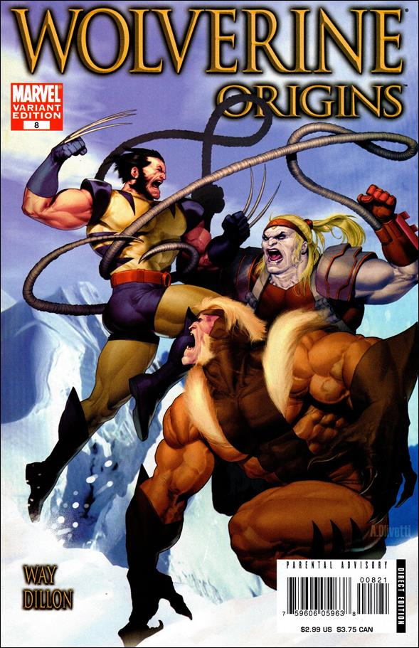 Wolverine: Origins 8-B by Marvel