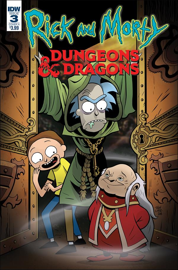 Rick and Morty vs Dungeons & Dragons 3-A by IDW