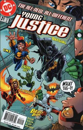 Young Justice (1998) 21-A