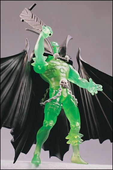 Spawn (Series  1) Necroplasm Spawn (Collectors Club Exclusive) by Todd Toys