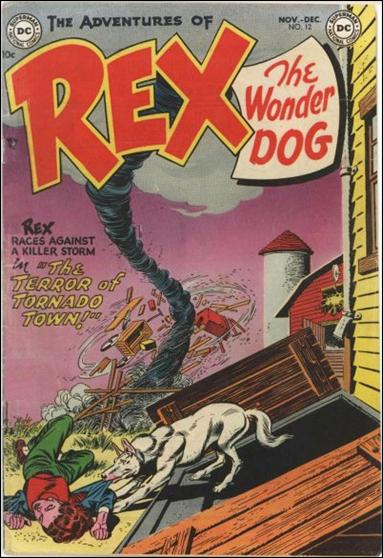 Adventures of Rex the Wonder Dog 12-A by DC